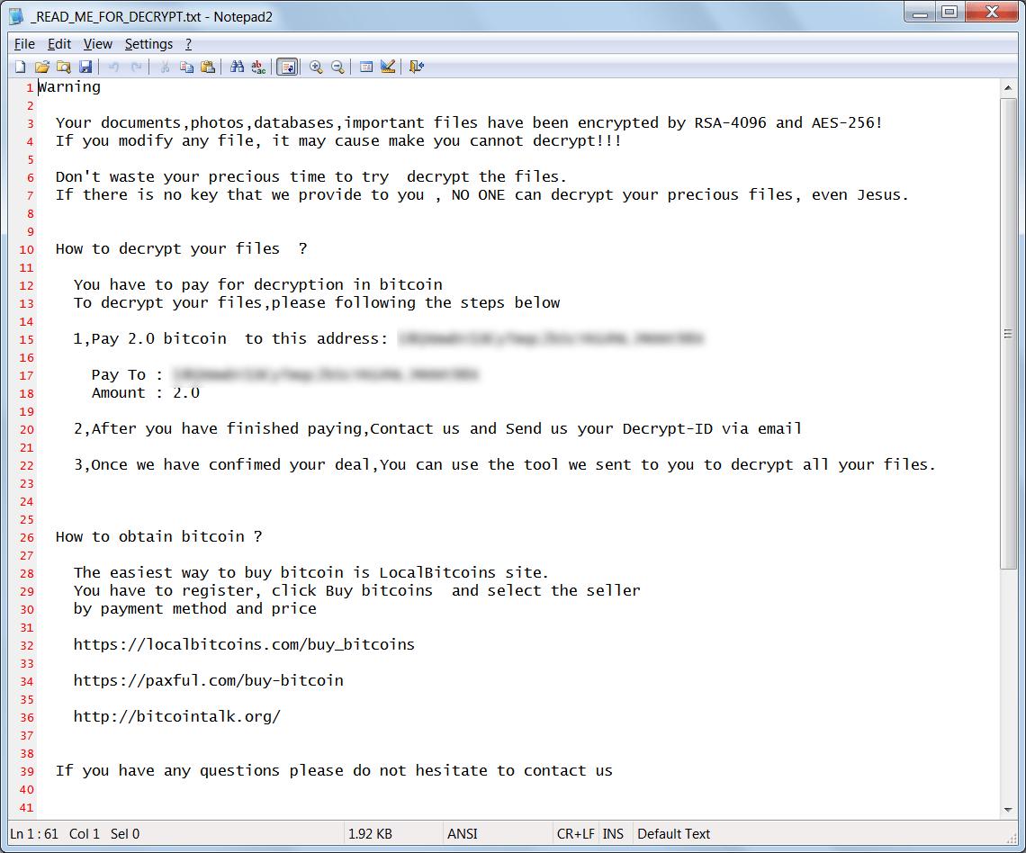 StorageCrypt Ransomware