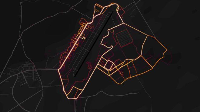 Strava Tracking app military bases