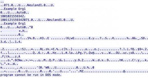 x.509 certificates embedded mimikatz