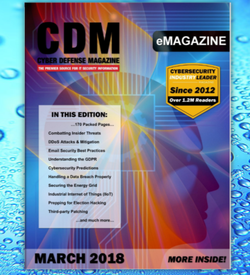 Cyber Defense Magazine March 2018