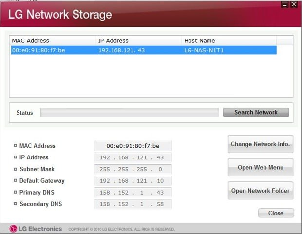 A flaw could allow easy hack of LG Network-attached storage