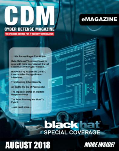 Cyber Defense Magazine August 2018