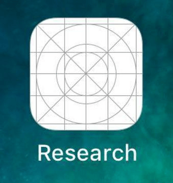 Facebook Research App Icon