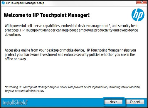 HP Touchpoint Analytics