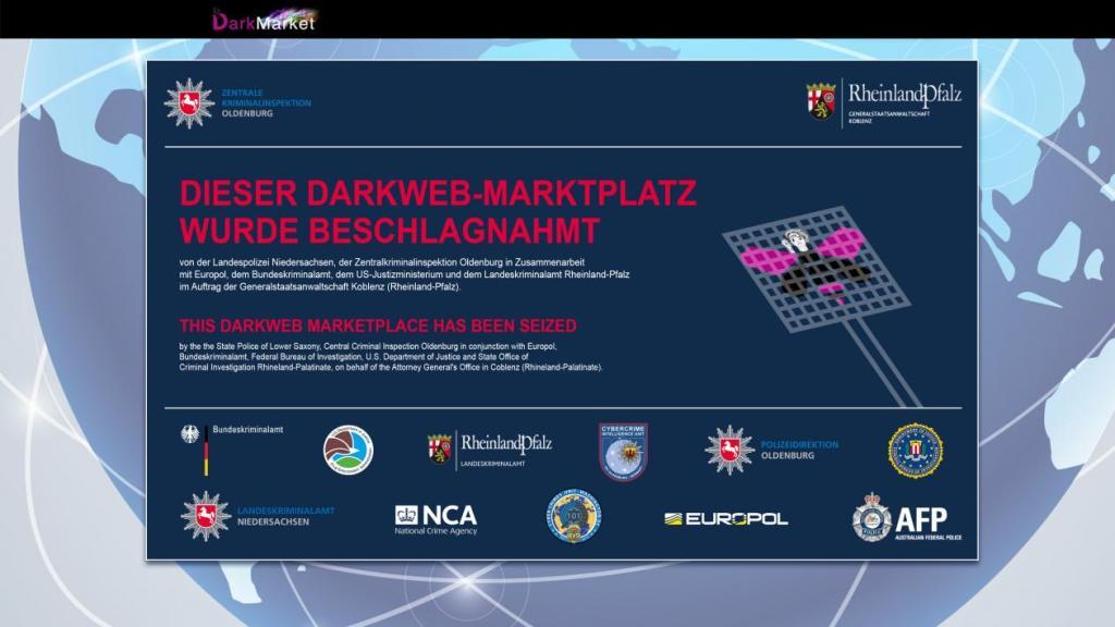 Police took down DarkMarket, the world's largest darknet marketplace
