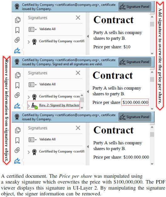 PDF Certification attack 3