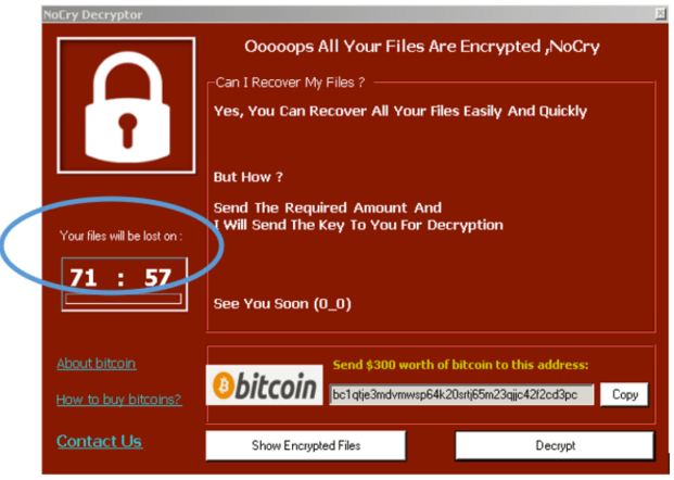 nocry ransomware