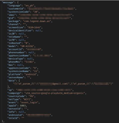 EskyFun data leak
