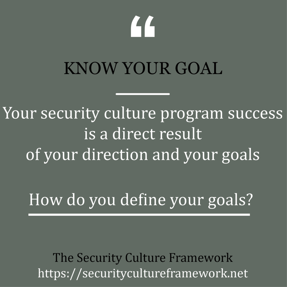 knowyourgoal