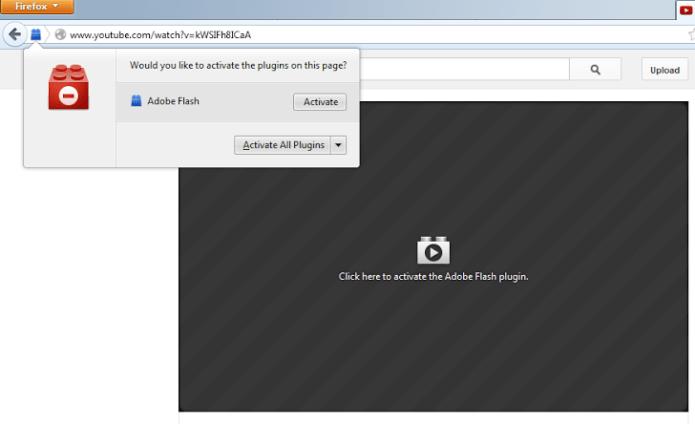 Phiên bản mới của Firefox sẽ chặn tất cả các plugin không nằm trong whitelist