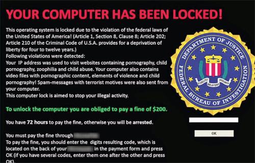 Trojan tấn công Windows đòi tiền chuộc