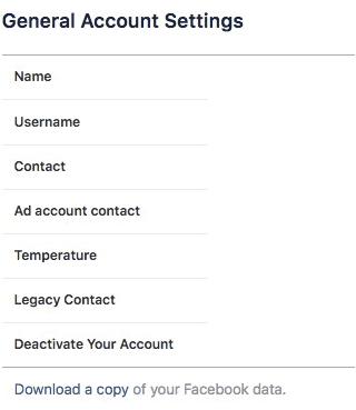 Làm thế nào để tìm hiểu dữ liệu Facebook thu thập về bản thân