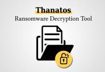 công cụ phá mã độc thanatos miễn phí cystack