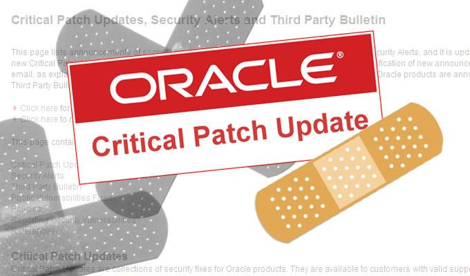 securitydaily Bản vá lỗi của Oracle trong tháng 7 lập kỉ lục