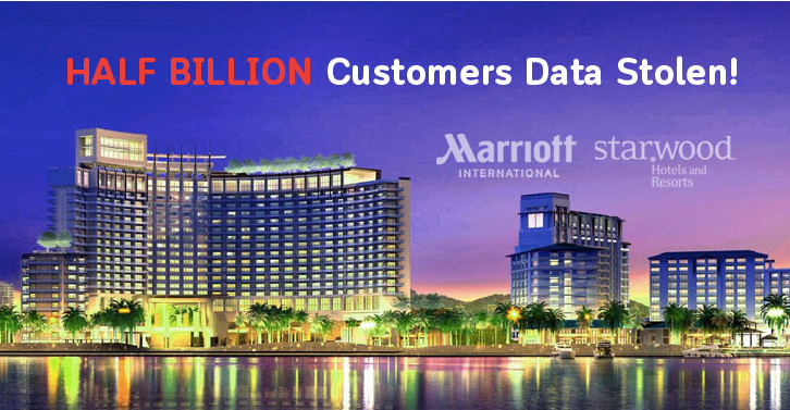Thông tin 500 triệu khách hàng của khách sạn Marriott bị hack