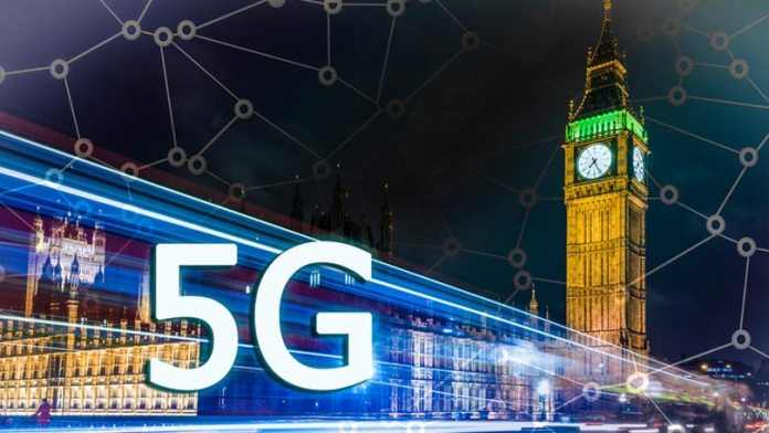 Mạng di động 5G chính thức ra mắt tại Vương quốc Anh