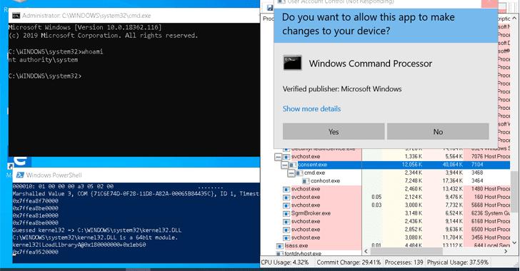 Lỗ hổng 20 năm trong Windows