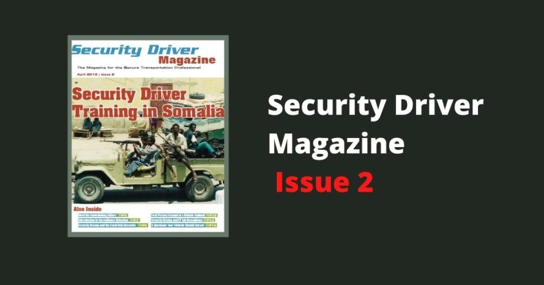Security Driver Magazine Issue 2