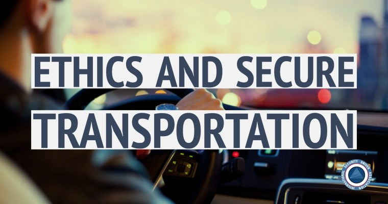 ethics and secure transportation by Mark Robinson