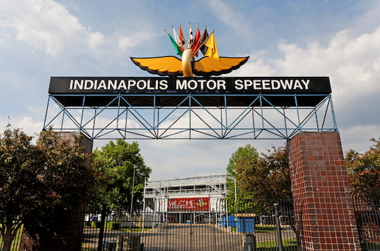 Welcome to the Indy Motor Speedway