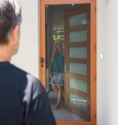 Exclusive NW Washington distriStrongest door, window and patio security screens on the market. Defend your den!
