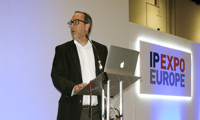 Moral encryption: founder of Wikipedia speaks at IP EXPO