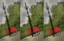 Redvision's radar controlled rugged dome