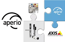 Aperio and Axis bring wireless access control