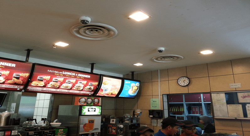 McDonald's turns to Hikvision for Security in Malaysia