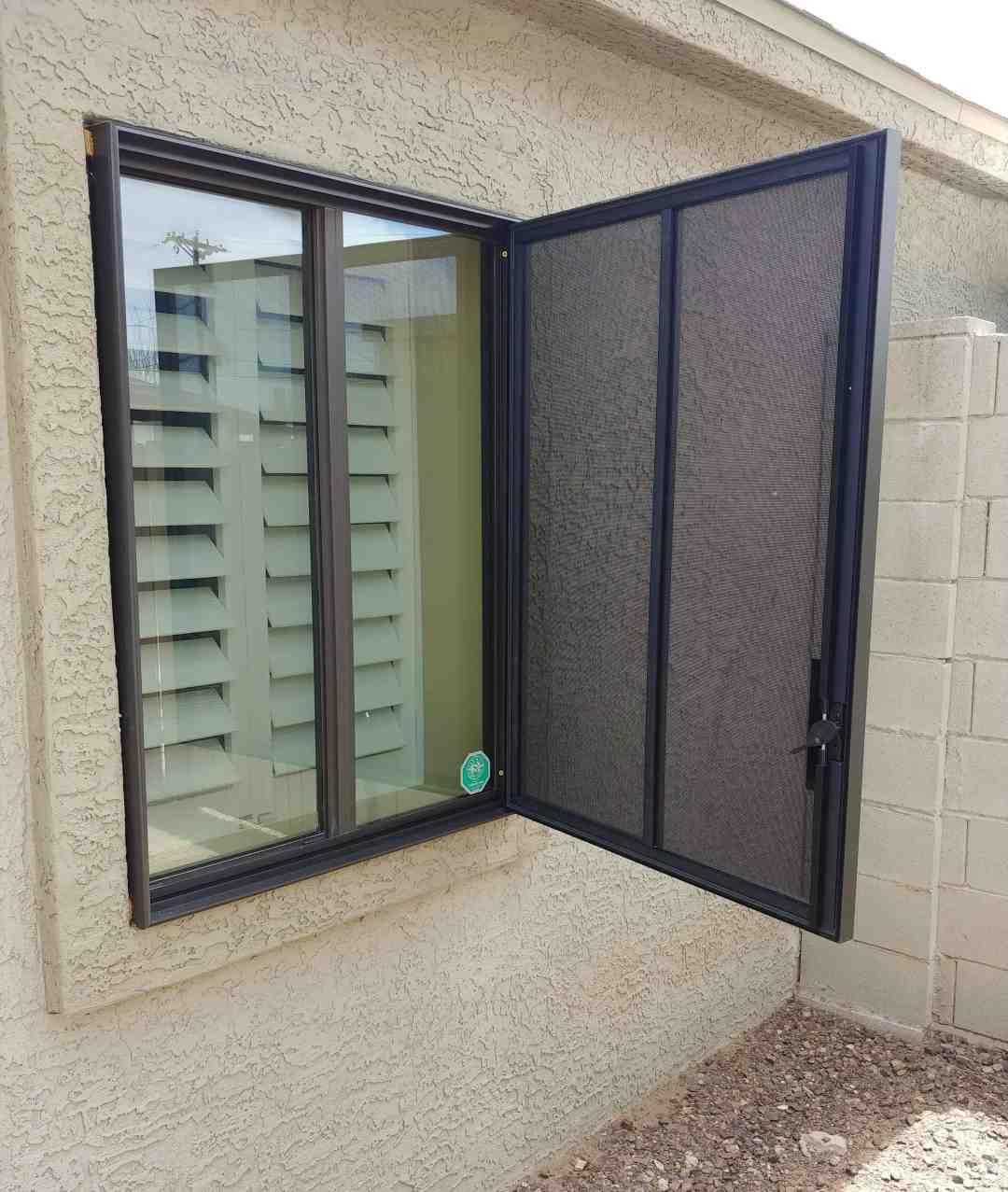 Las Vegas Fire Escape Security Window Screen