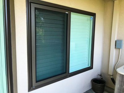example of security plus' fire escape window security screen