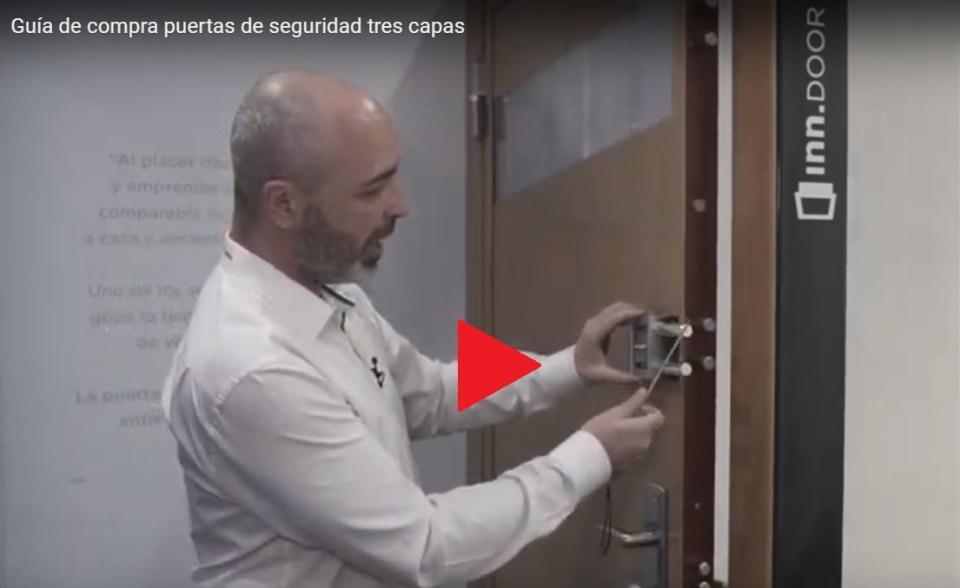 Puertas de seguridad con retención-activa