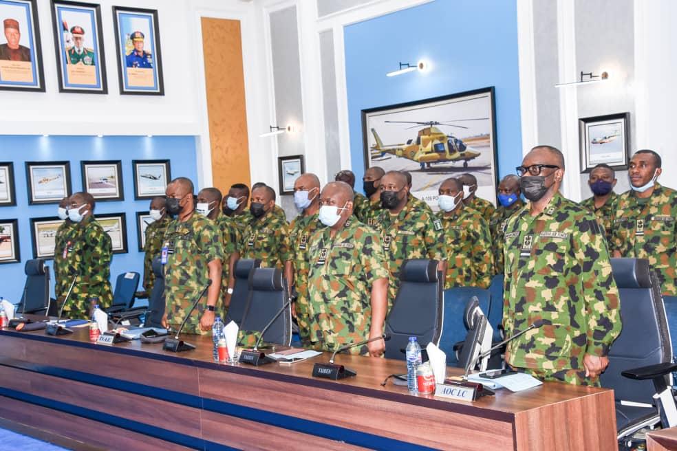NAF Restrategises to crush insurgency