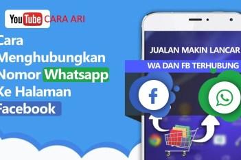 Cara menghubungkan Whatsapp ke Facebook