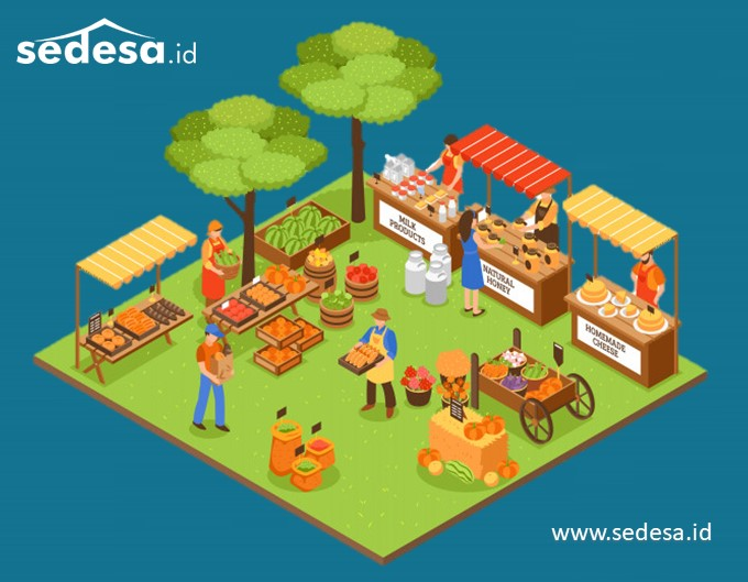 Apa Itu Pasar - Pemasaran Produk Desa