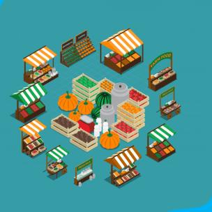 Memanfaatkan Dana Desa Untuk Membangun Pasar Desa