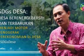 SDGs Desa energi Bersih Listrik Desa