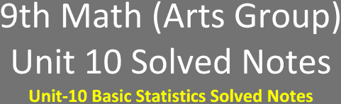 Unit10-9th-Math-Arts-Solved-Notes