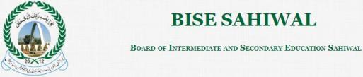 BISE Sahiwal 10th Class Latest Results