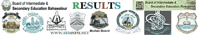 All Pakistan Boards 9th & 10th Classes Results