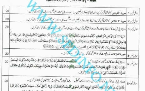 Matric-Code-240-AIOU-Past-Papers-Autumn-2012