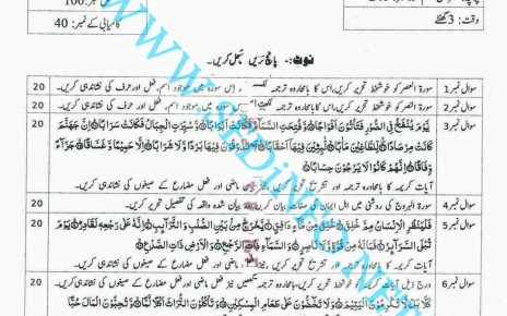 Matric-Code-240-AIOU-Past-Papers-Autumn-2014