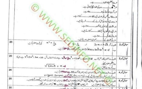 Matric-Code-248-AIOU-Past-Papers-Spring-2016