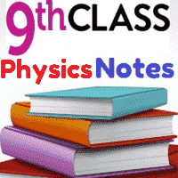 9th Class Physics Urdu Medium Notes