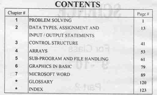 Download 10th Class Computer Science Book