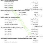 5th Class Islamiyat PEC Model Papers Objective 2018