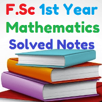 Math Notes FSc Part 1 Download Unit 7
