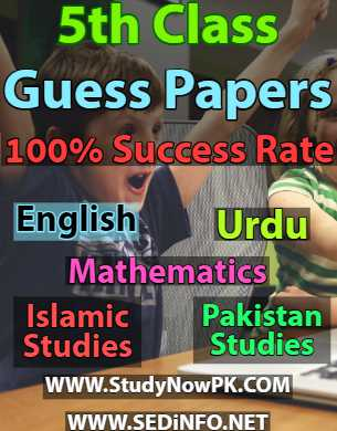 5th-class-guess-papers-sedinfo.net-1