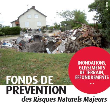 PLF 2019 – Fonds de prévention des risques naturels majeurs : les députés adoptent les évolutions du dispositif